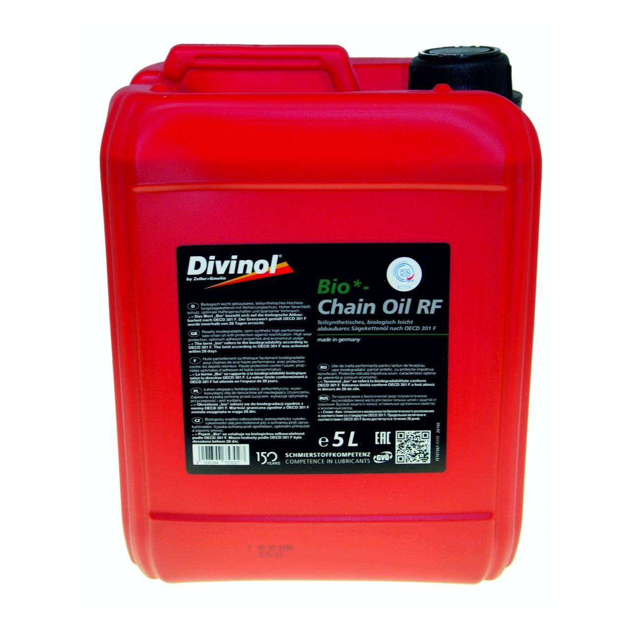 Bio-Chain Oil RF 'Divinol' / 5,0 l Kanister