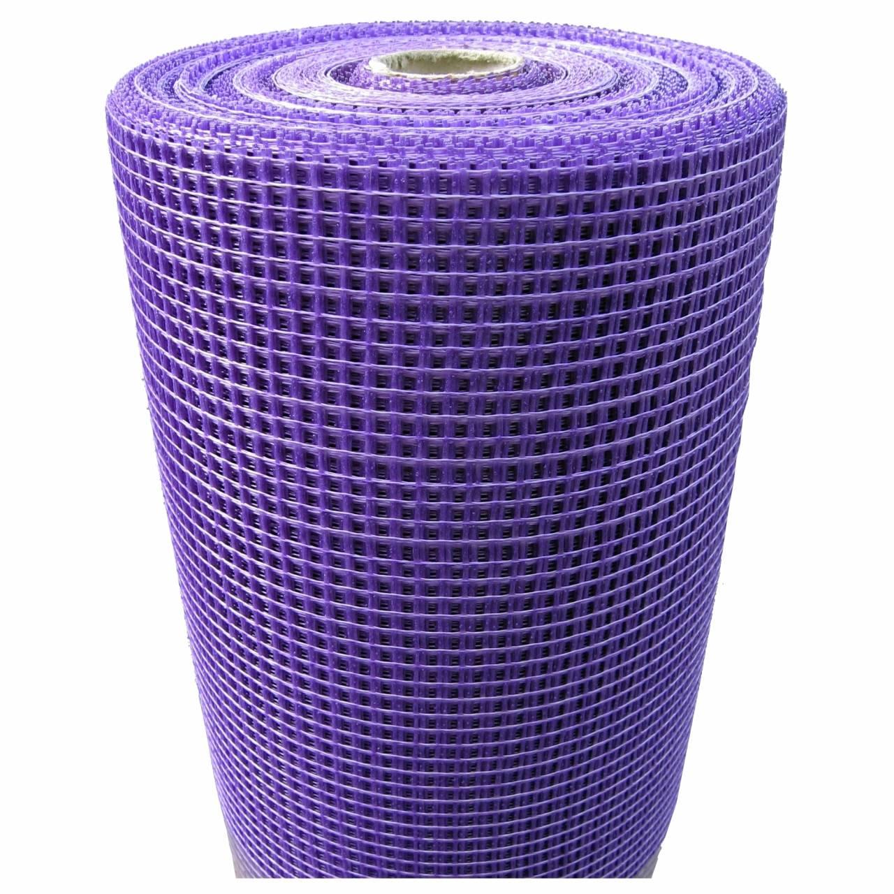 Universalputzgewebe 7 x 7 violett / Rolle 1,0 x 100 m