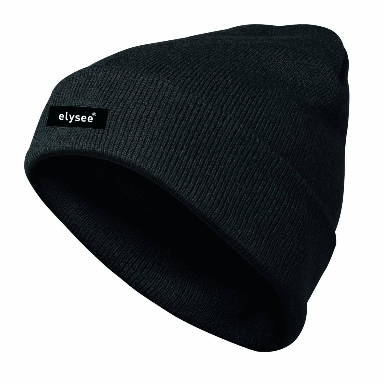 Winter-Thermomütze, schwarz, mit 'Thinsulate®'