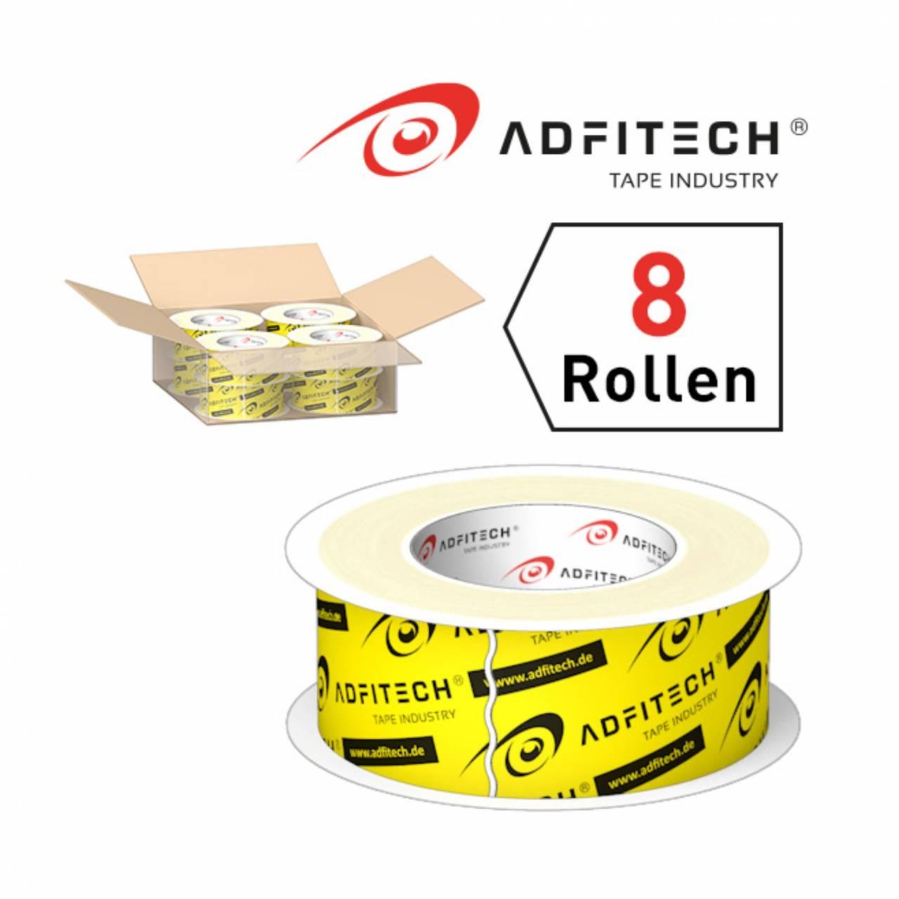 Adfitech Dichtklebeband 'AT710' 60 mm x 40 lfm / Krt a 8 Rollen