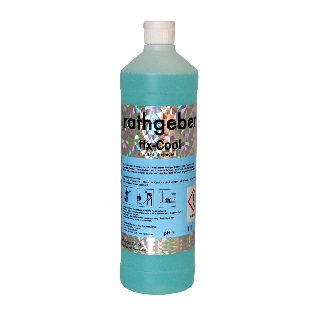 Alkoholreiniger 'fix-Cool' / 1,0 L PET-Flasche