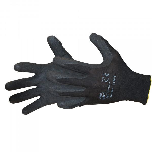 Montage-Handschuhe Gr. 10, Nylon-Strick, EN388 Kat.2 / Paar