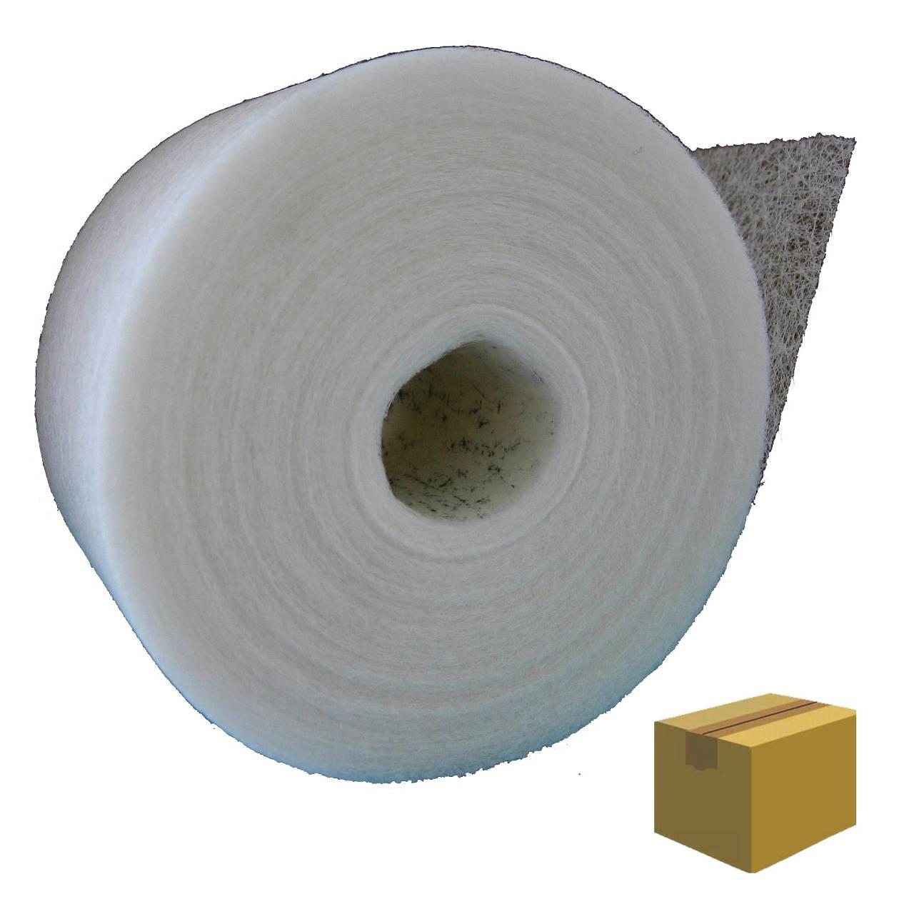 Glasfaserstreifen 50 mm x 25 lfm / Krt a 40 Rollen