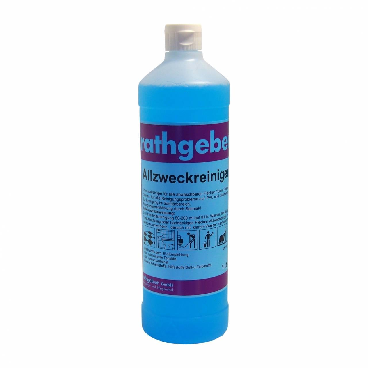 Allzweckreiniger 'blau' 1,0 l PET-Flasche