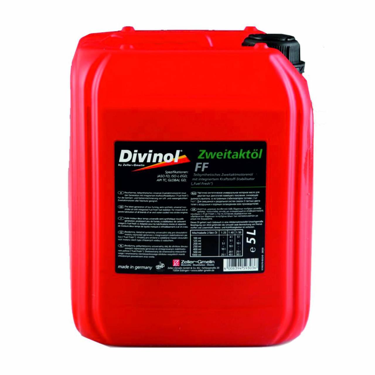 Zweitaktöl 'Divinol' FF / 5,0 Liter Kanister
