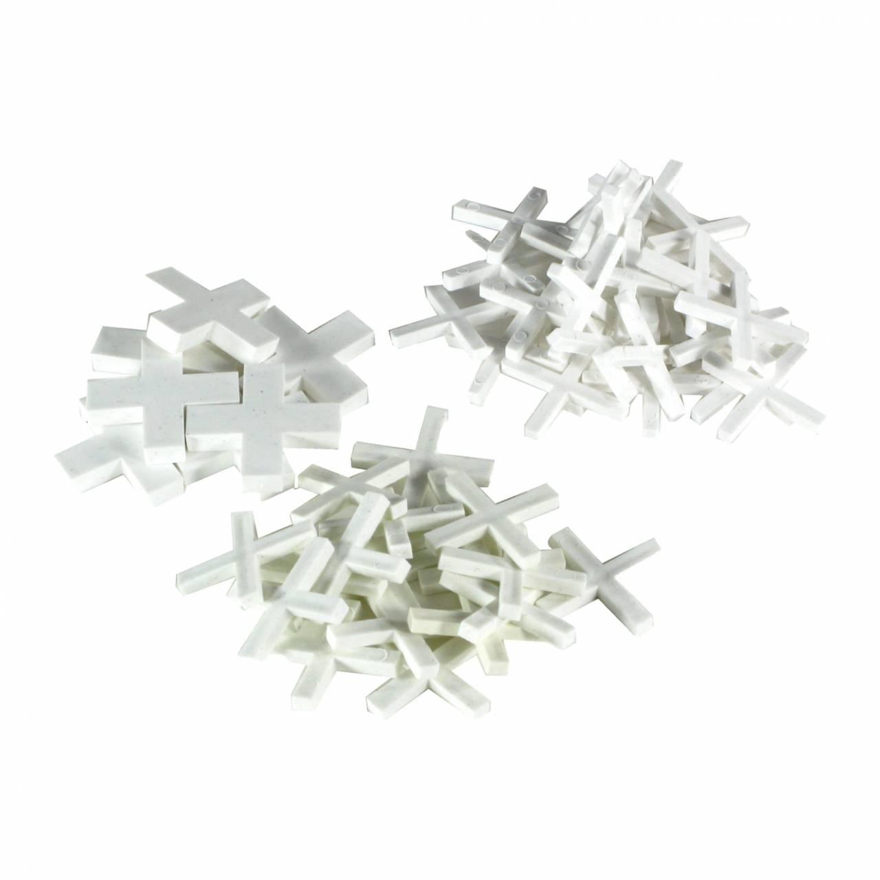 Fliesenkreuze Kunststoff 2,0 x 13,0 mm / Btl a 250 Stück