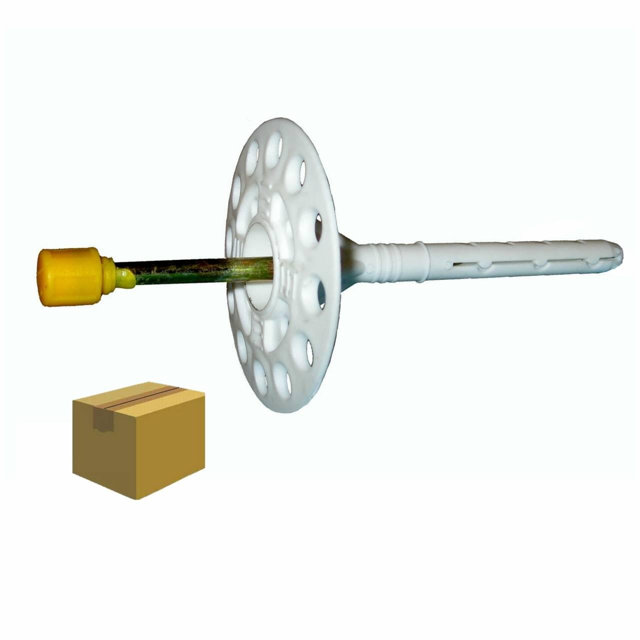 Dämmstoffdübel 'S' 8,0 x 110 mm / Krt a 250 Stück