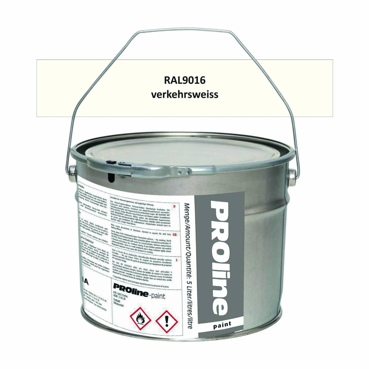 Aussen-Markierfarbe 'PROline-paint' WEISS / Eimer a 5,0 Liter