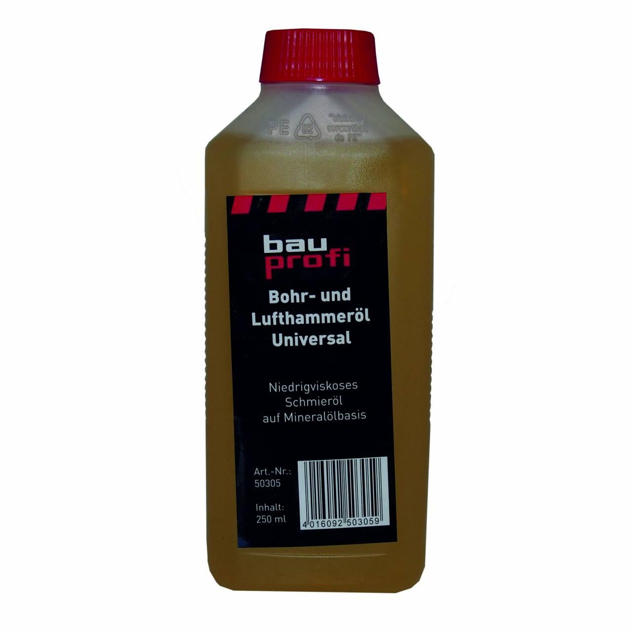 Lumo Bohr- / Lufthammeröl / 250 ml Flasche