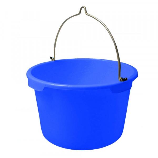 blau Bau-Eimer 20,0 l /'Jopa/' kranbar Ø 33,0 cm Skalierung