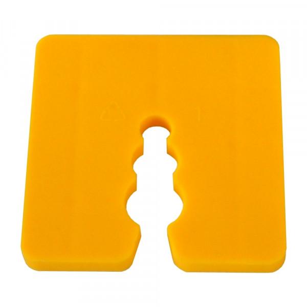 Distanzstück / Abstandhalter gelb 5 mm / Btl a 100 Stück