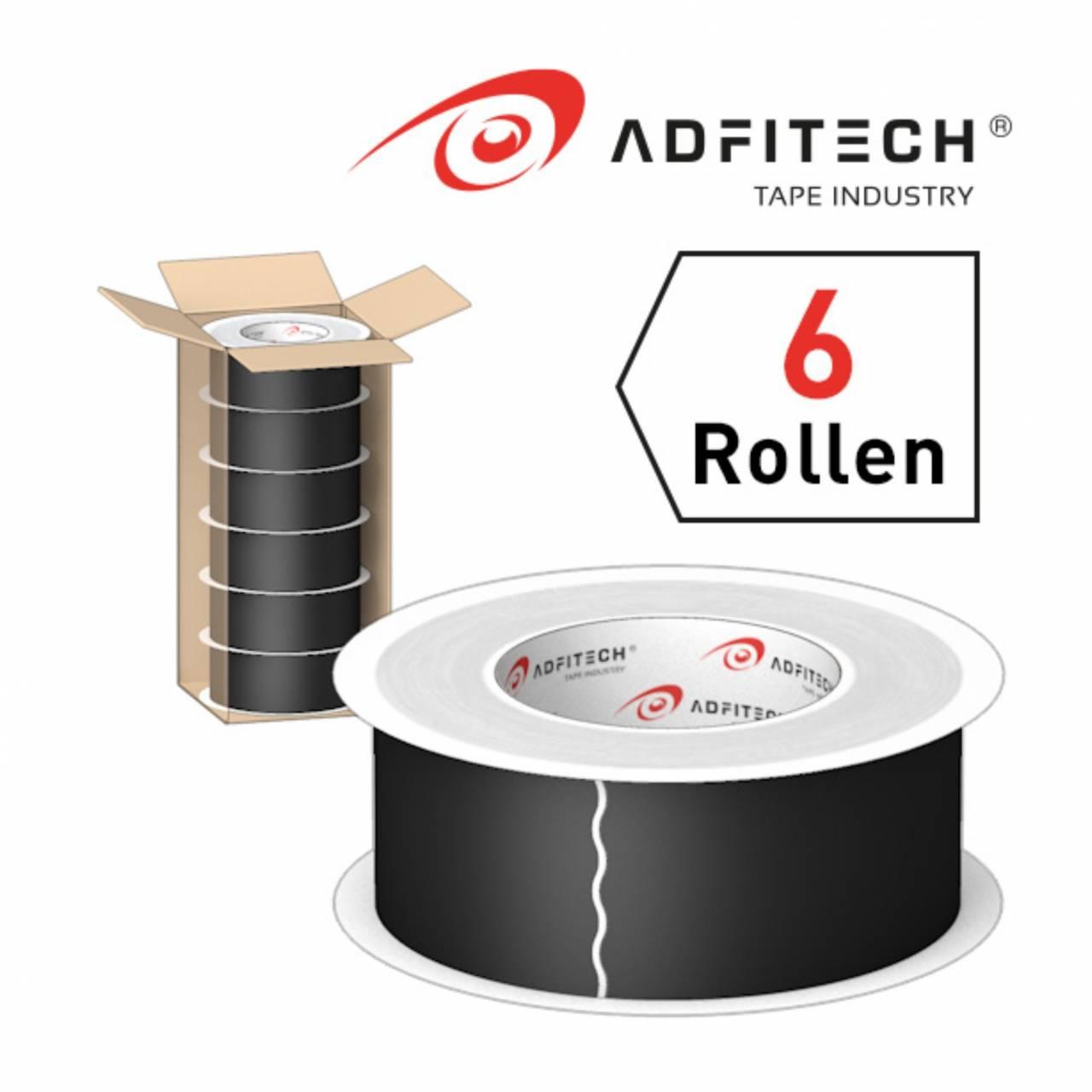 Adfitech Dichtklebeband 'AT235' 60 mm x 25 lfm / Krt a 6 Rollen