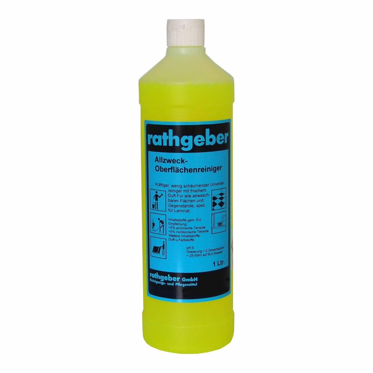 Allzweck-Oberflächenreiniger 1,0 l PET-Flasche