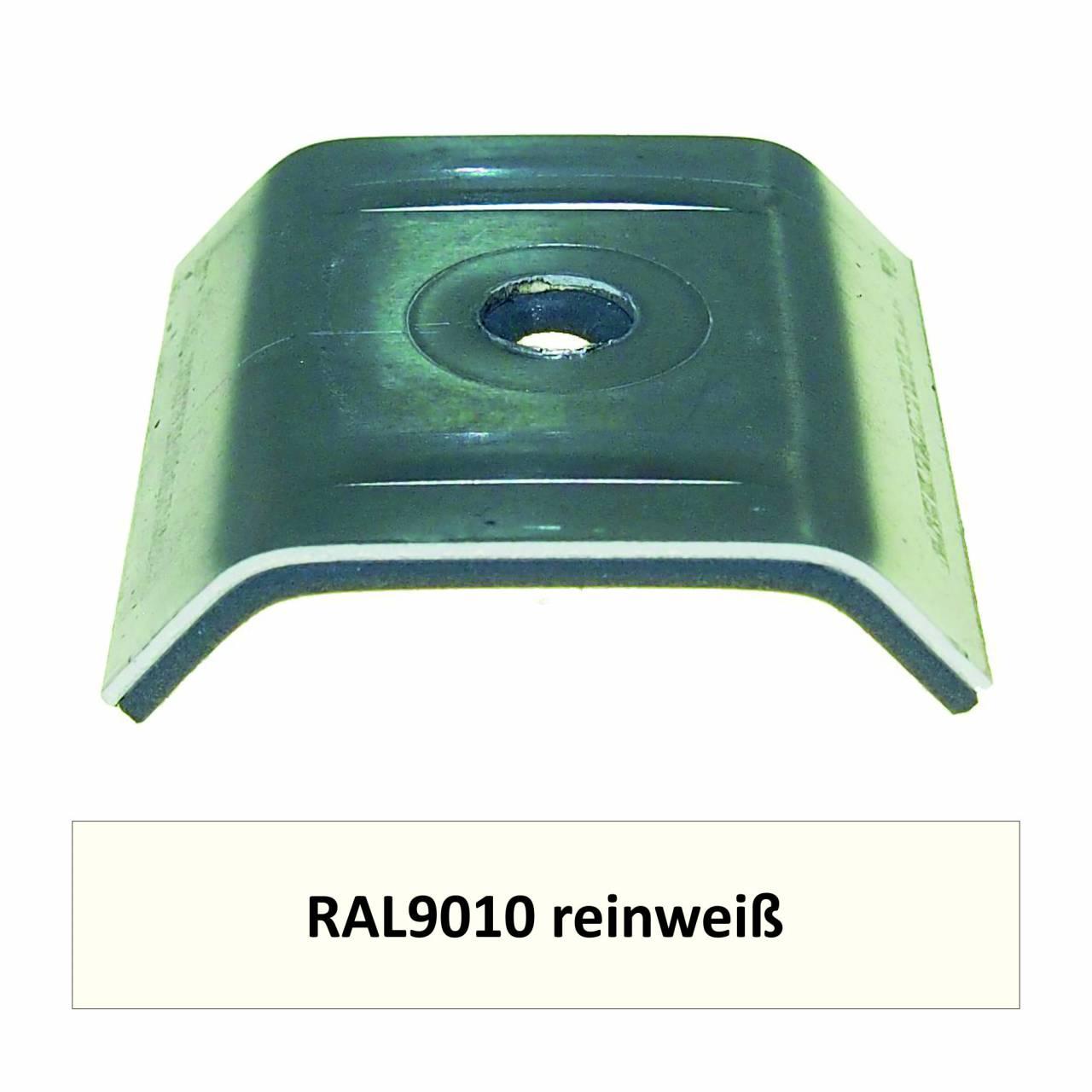Kalotten für 39/333, Alu RAL9010 reinweiß / Pck a 100 Stück