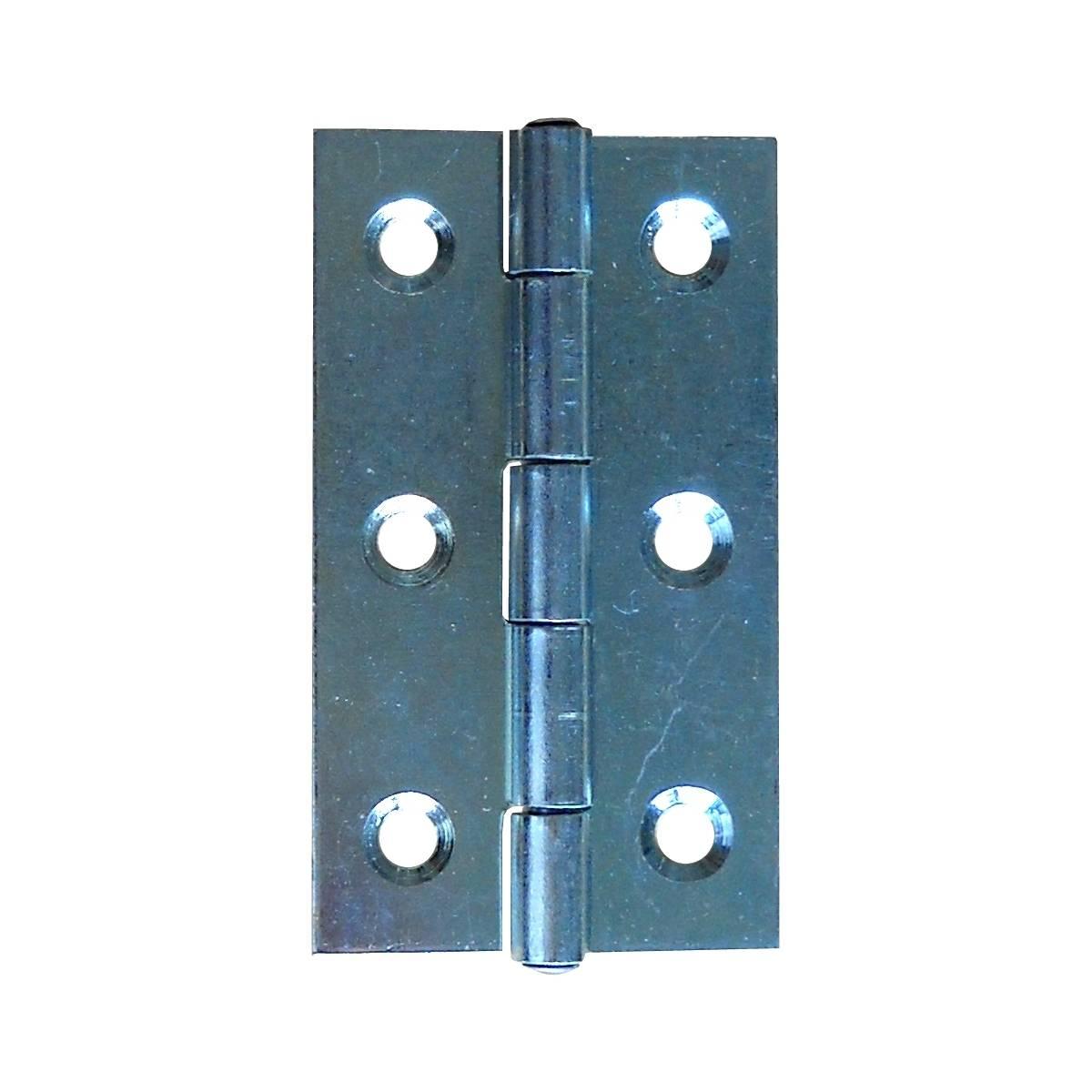 Scharnier vz 70 x 38 x 1,5 mm / Pck a 2 Stück