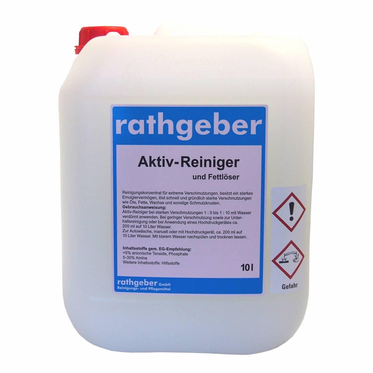 Aktiv-Reiniger / Fettlöser 10,0 l PE-Kanister