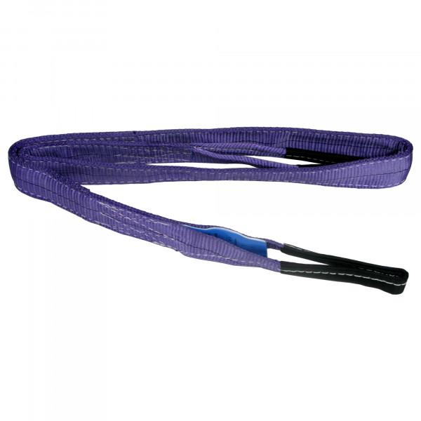 Hebeband violett, Tragkraft 1000 Kg, 2,0 m x 30 mm