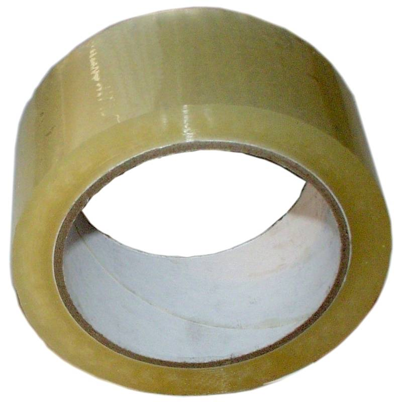 Packband T108 transparent 48 mm x 66 m / Rolle