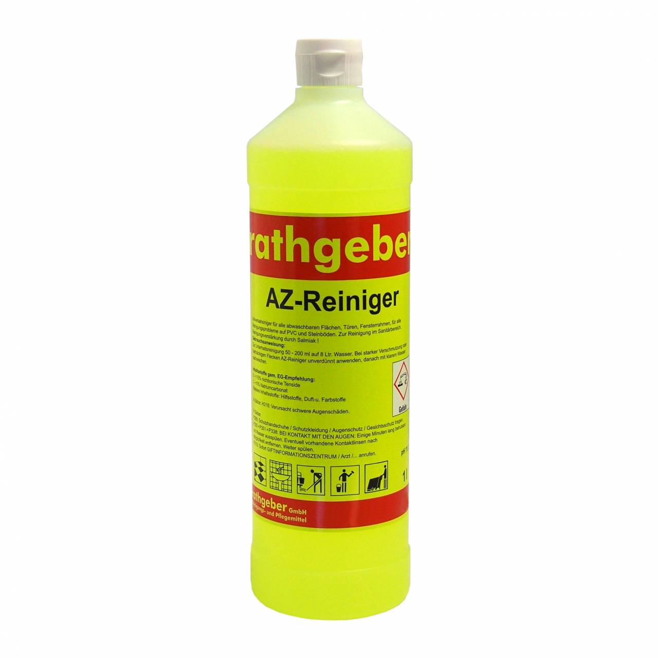 Az-Reiniger 'gelb' 1,0 l PET-Flasche