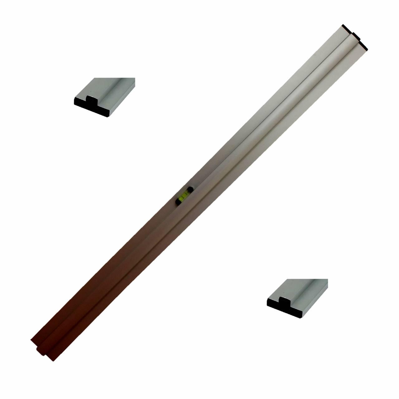 Grundschiene für Trockenschüttgut-Abziehlehre 350 cm