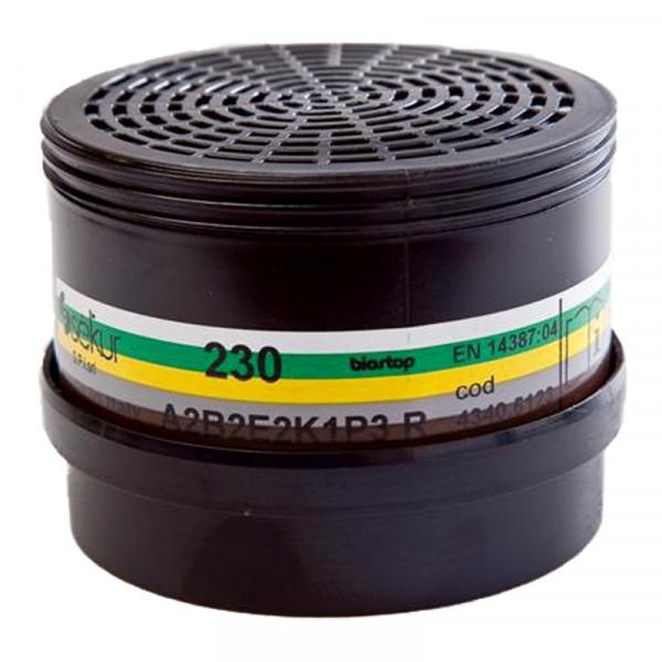 Mehrbereichs-Kombifilter 230 A2B2E2K1-P3 / Pck a 2 Stück