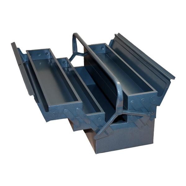 Stahlblech-Werkzeugkasten, 5-teilig