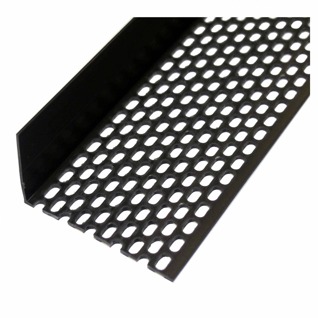 Lüftungsprofil 30 x 90 schwarz / Bd a 10 x 2,5 m Stäbe