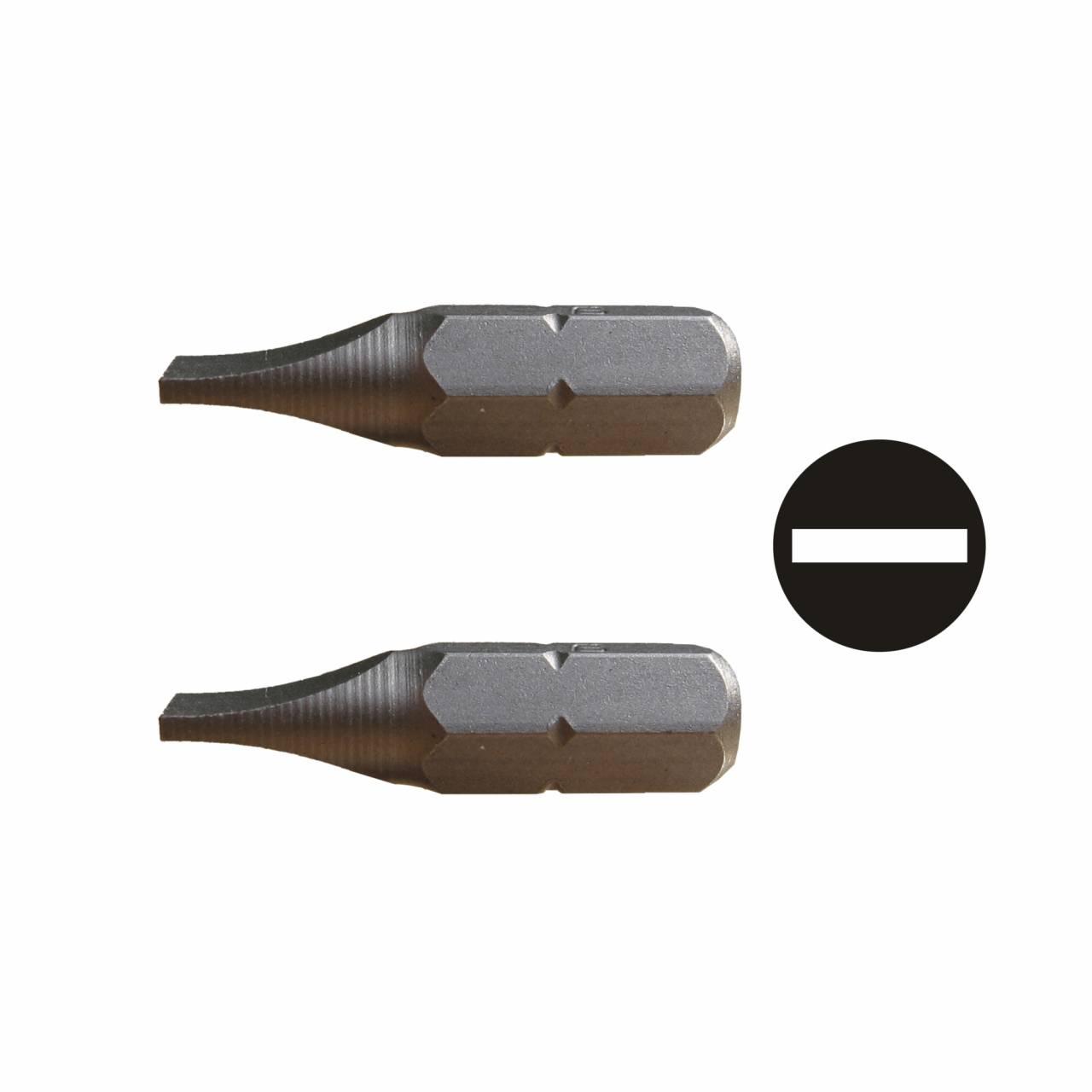 Längsschlitzklingen / Pck a 2 Stück