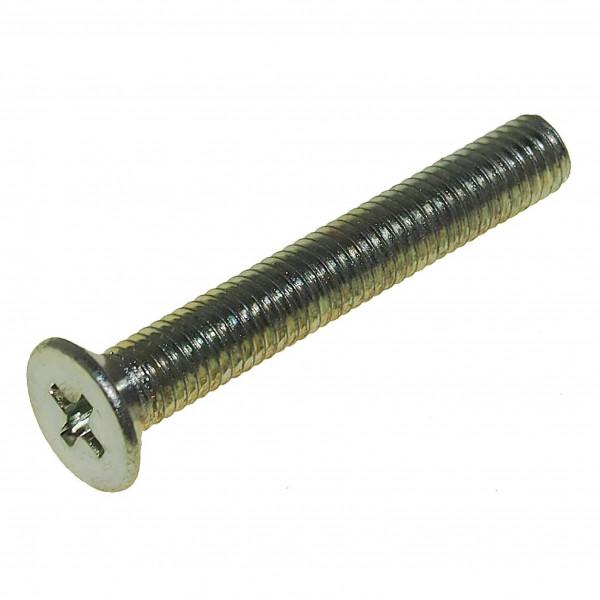 Senkschrauben DIN965-H M5 x 35 mm, verz. / Pck a 100 Stück