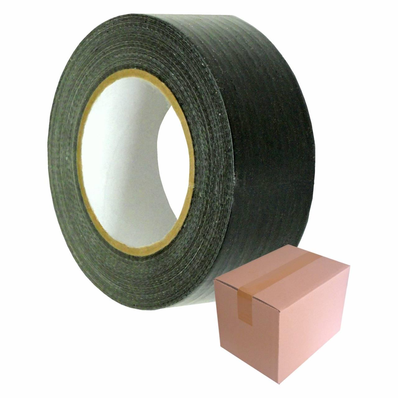 Gaffer-Tape T906 schwarz, 50 mm x 50 m / Krt a 24 Rollen