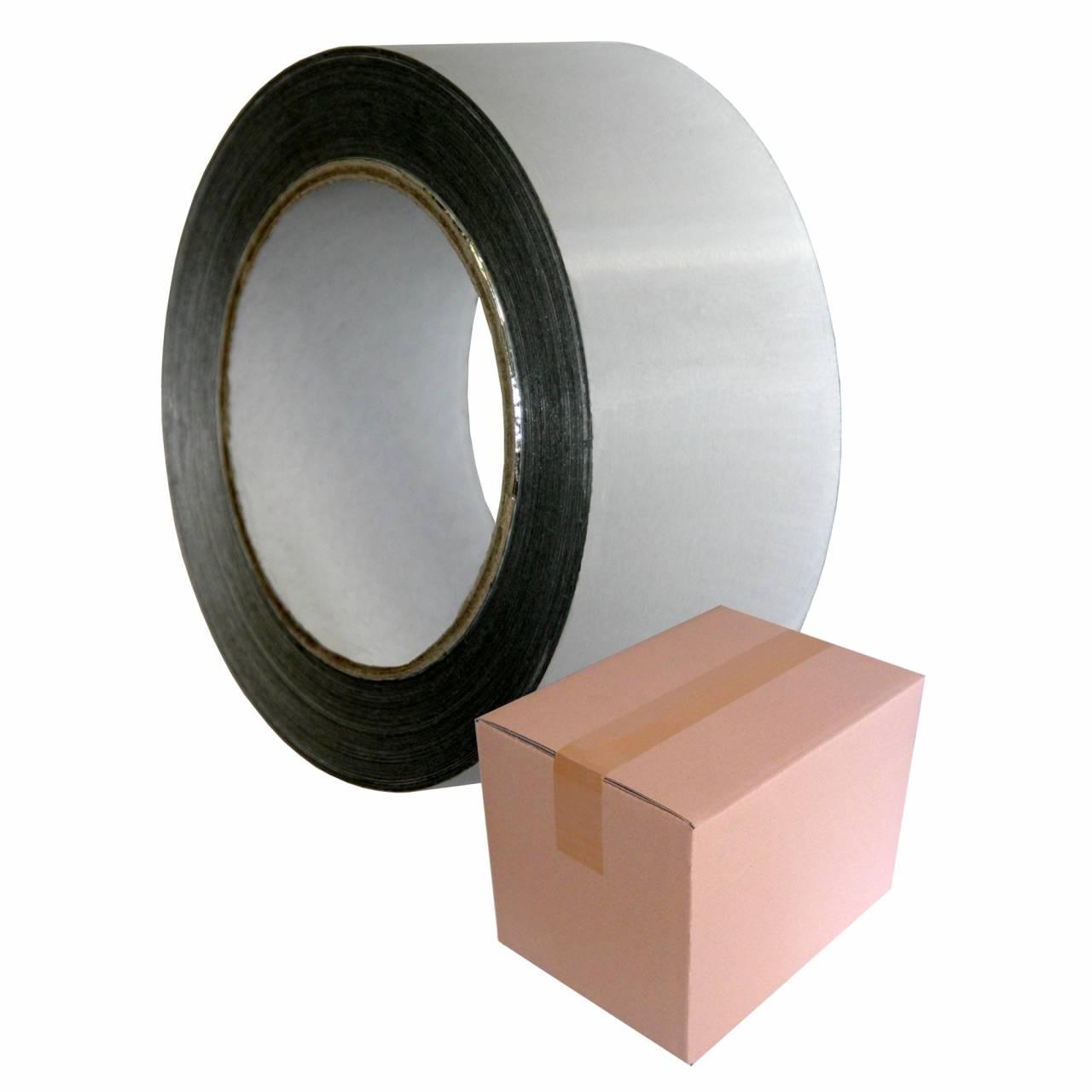 Aluminium-Klebeband T109, 75 mm x 50 m / Krt a 16 Rollen
