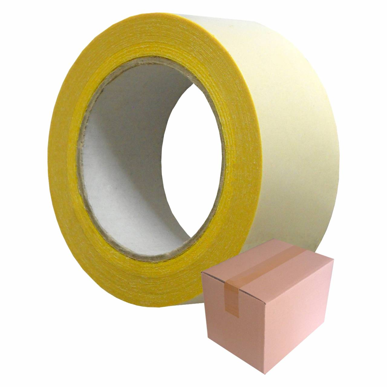 SAFETY-Tape T305 gelb-phosphorierend, 50 mm x 18 m / Rolle