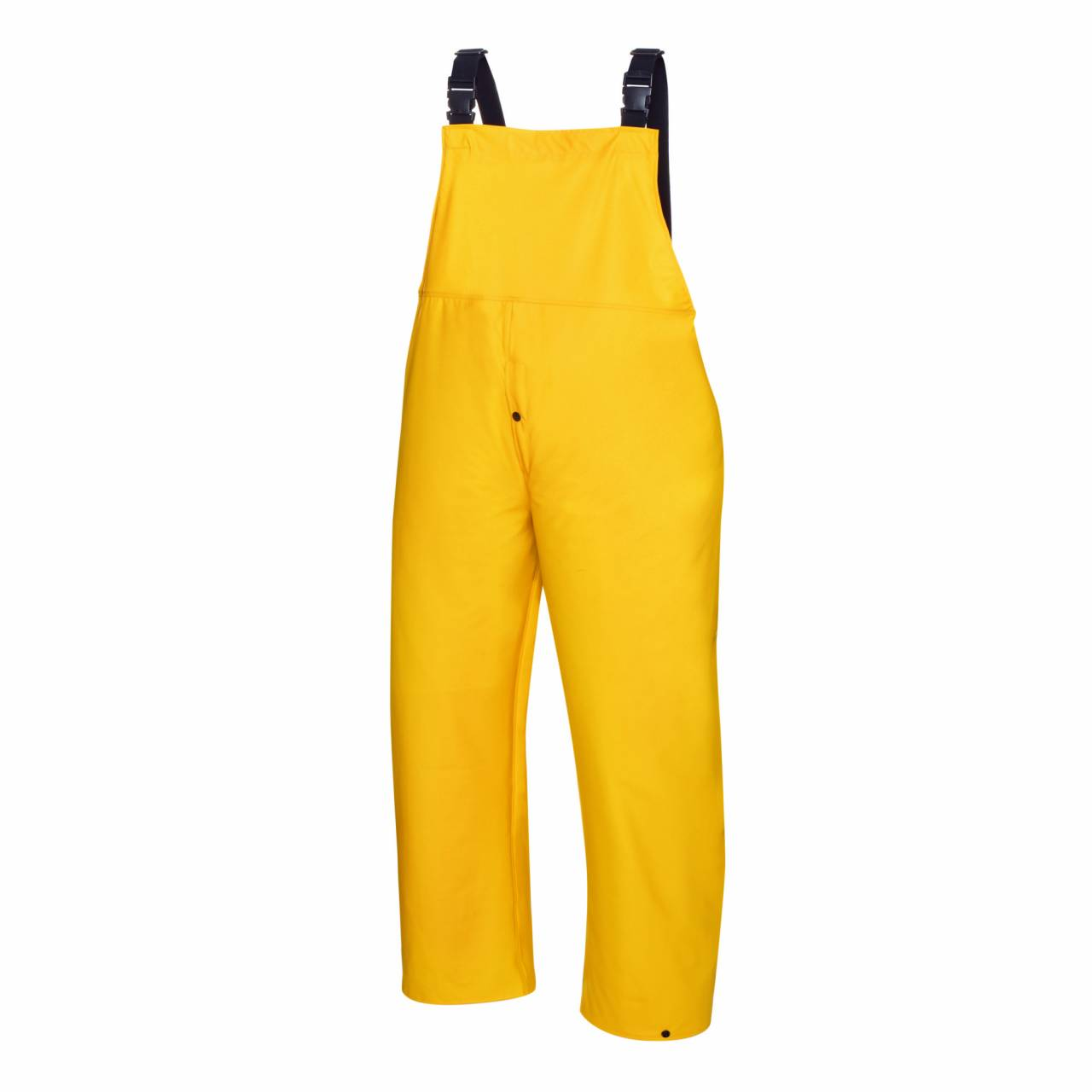 PU-Regenschutz-Latzhose gelb, Gr.M