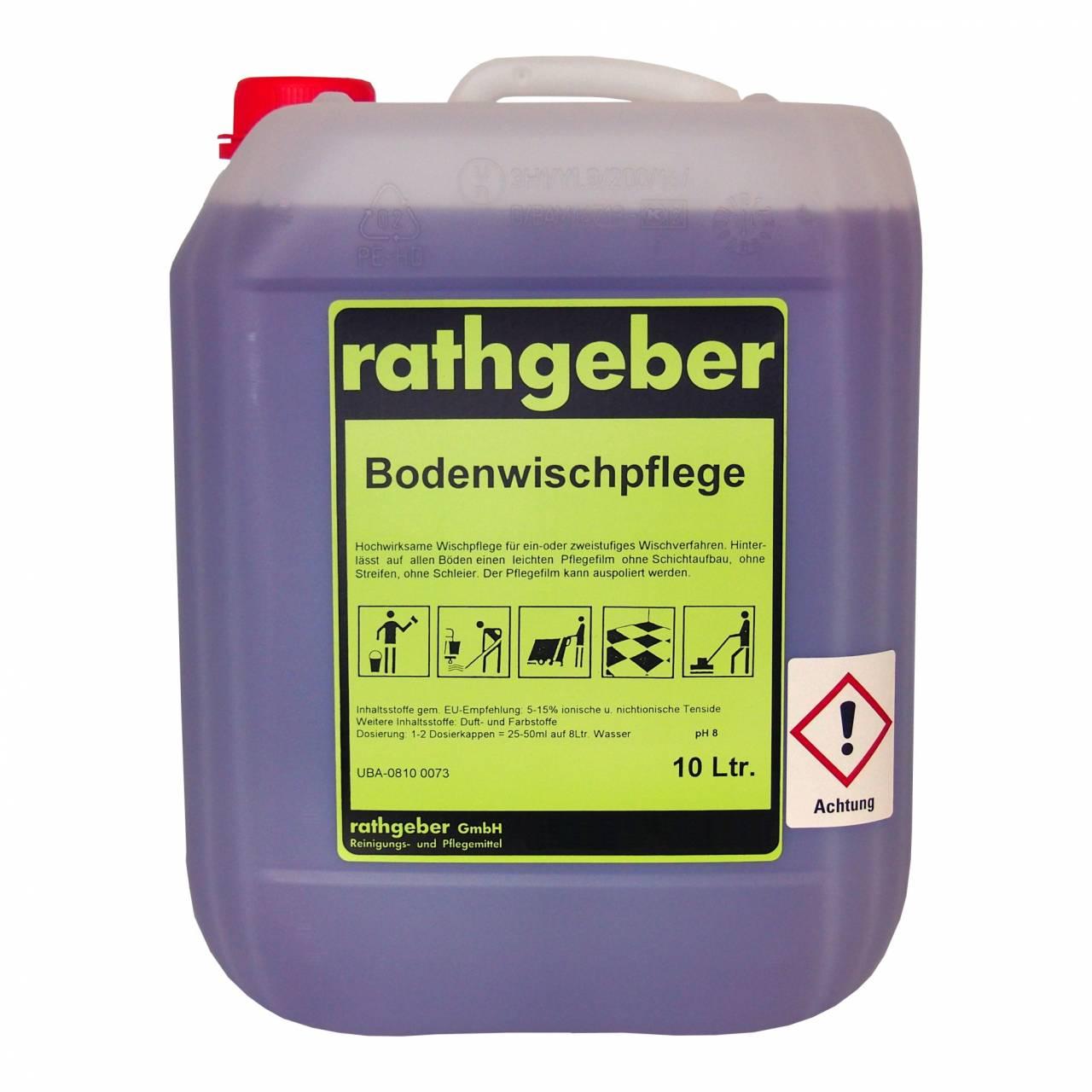 Boden-Wischpflege 10,0 L PE-Kanister