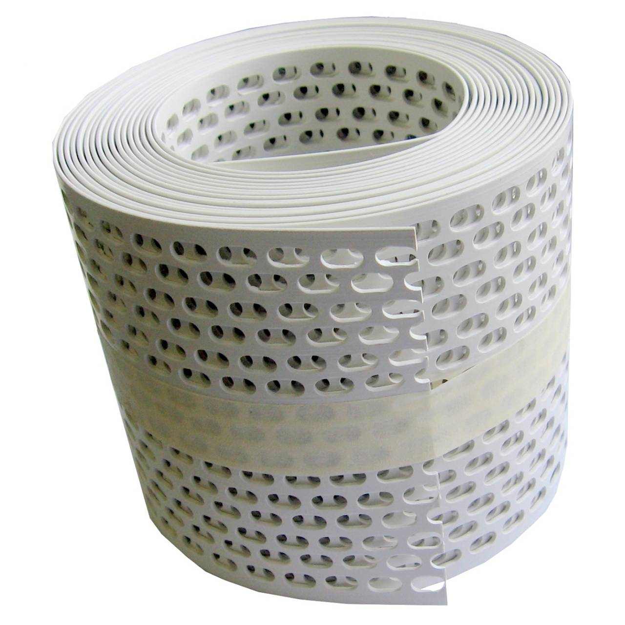 Traufgitter 150 mm weiss / Rolle a 5 lfm