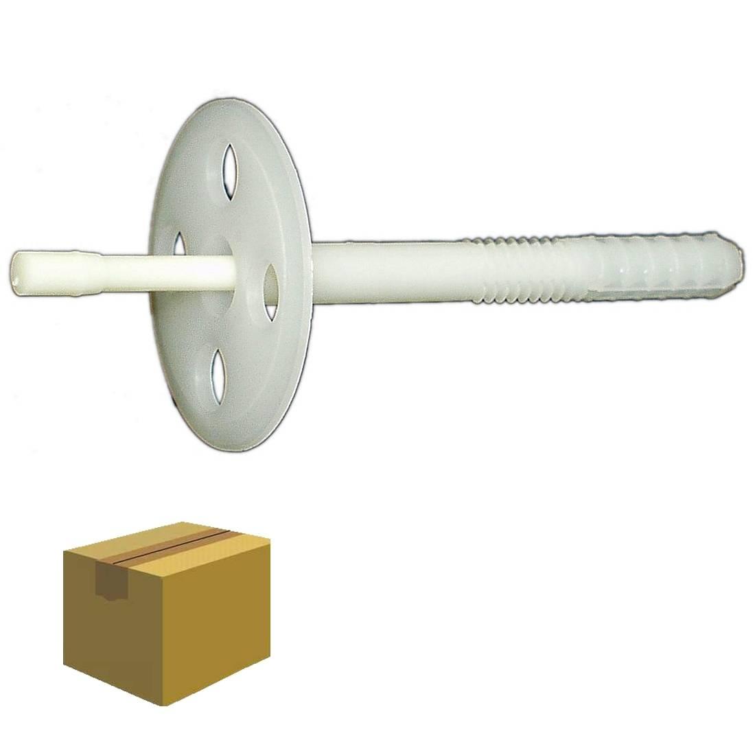 Dämmstoffdübel 'K' 10,0 x 180 mm / Krt a 250 Stück