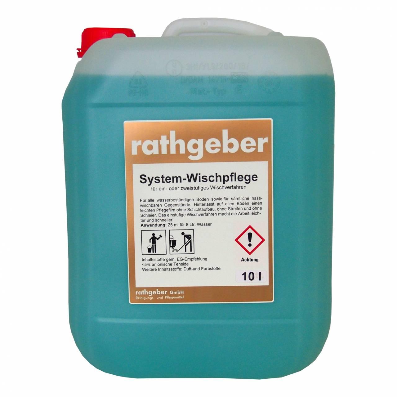System-Wischpflege 10,0 L PE-Kanister