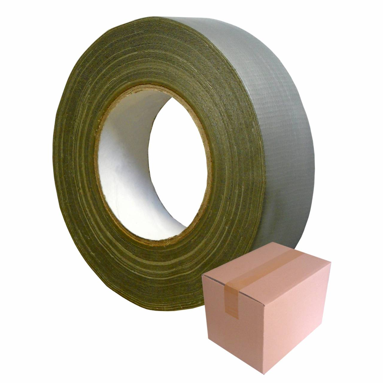 Allzweck-Klebeband T014, silber, 50 mm x 50 m / Krt a 24 Rollen
