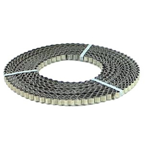 Bauwellenband 20 mm x 1 mm / Rolle a 50 m