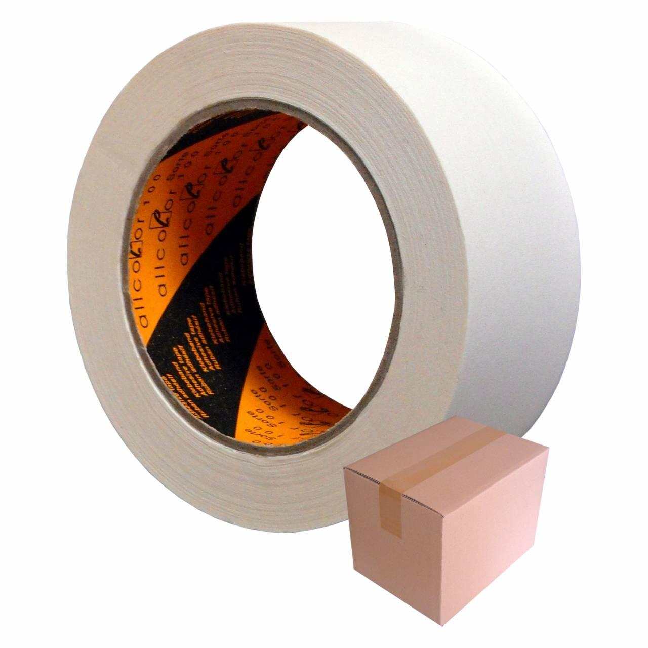 Feinkreppband T001, 19 mm x 50 m / Krt a 48 Rollen