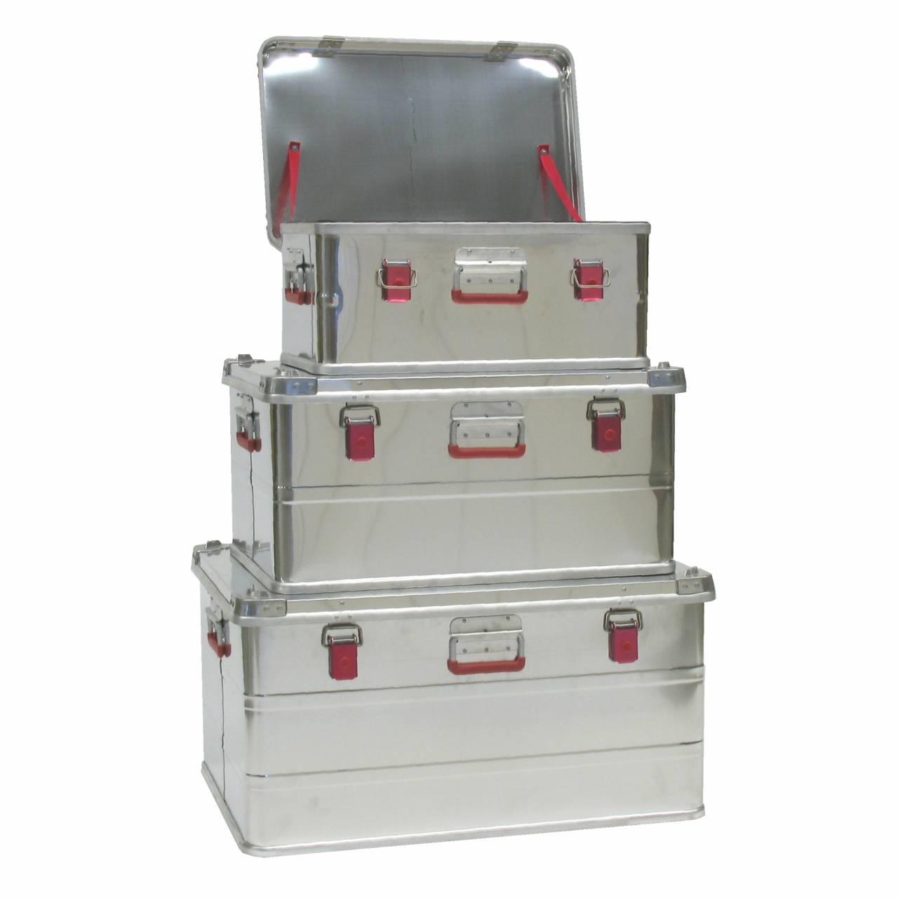 Alu-Werkzeugboxen-Set 'Industry-1' / Set a 3 Boxen