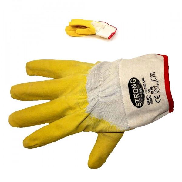Latex-Handschuhe Gr. 10, Stulpe, Kat.1 / Paar